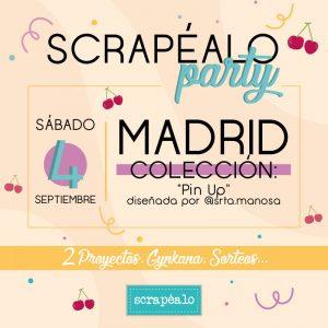 Scrapealo Party - Madrid @ SCRAPEALO