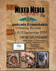 Antonis Tzanidakis -  Bilbao @ Centimetros o Pulgadas