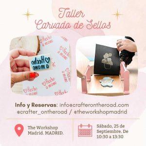 Alicia - Taller CARVADO SELLOS - Madrid @ The Workshop Madrid
