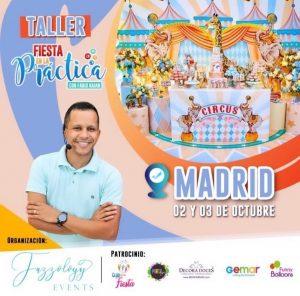 Fabio Raian - TALLER GLOBOS - Madrid @ Madrid