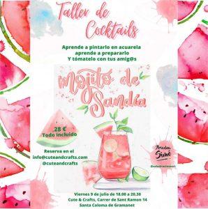 Ariadna Simo- Taller Acuarela - Barcelona @ CUTE AND CRAFTS