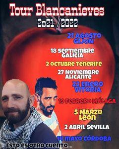 "Julio Toledo - Gira ""Blancanieves"" - Galicia @ DETALLES ORBALLO"