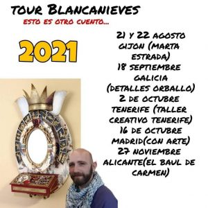 "Julio Toledo - Gira ""Blancanieves"" - Tenerife @ Taller Creativo Tenerife"